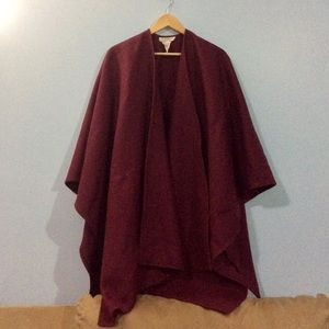 Burgundy Wool Sweater